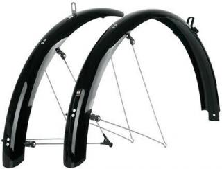 SKS Bluemels Shiny Mudguards 26 65 Black Set