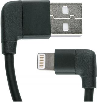 SKS Compit Cable iPhone Lighting Black