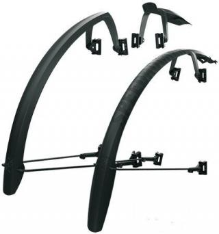 SKS Speedrocker Mudguards 28 23-42 Black Set