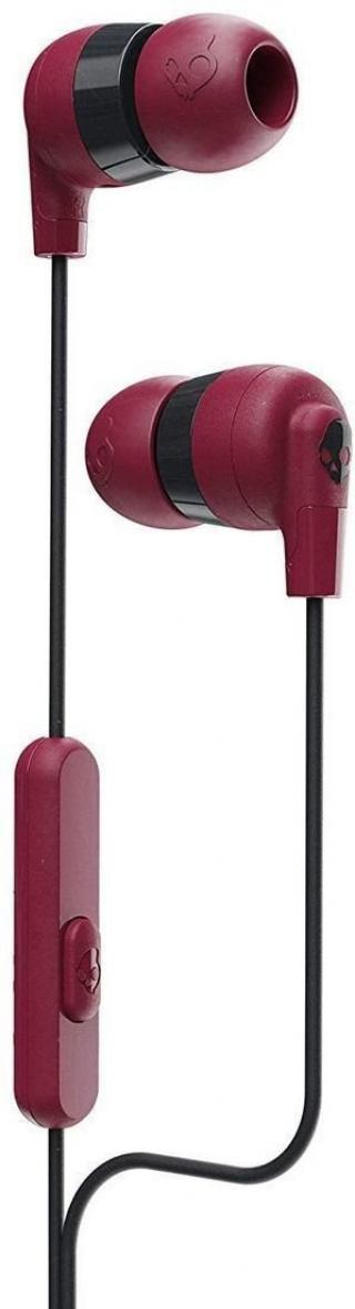 Skullcandy INK´D   Earbuds with Microphone Moab/Red/Black