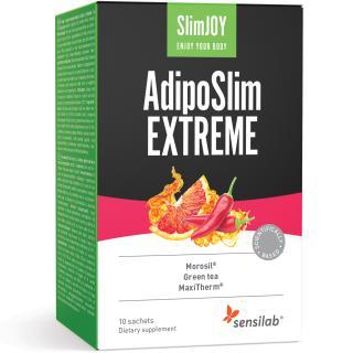 SlimJOY AdipoSlim EXTREME   Přírodní řešení hubnutí, založené na vědě    O 30% silnější receptura   Program na 1 měsíc   30 kapslí   Sensilab
