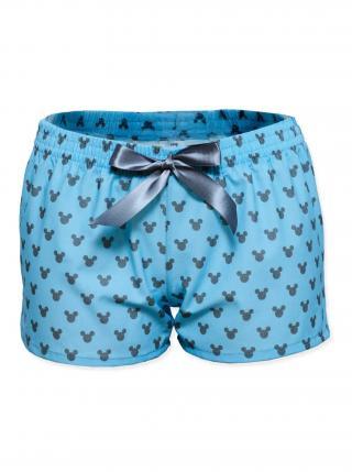 Slippsy modré dámské trenýrky Mickey dámské modrá L