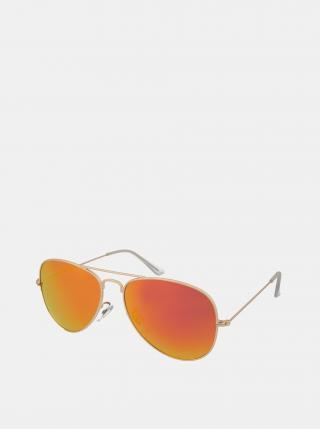 Sluneční brýle ve zlaté barvě Crullé dámské zlatá