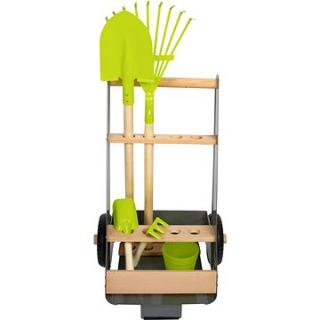 Small Foot Zahradní vozík s 5 ks nářadí