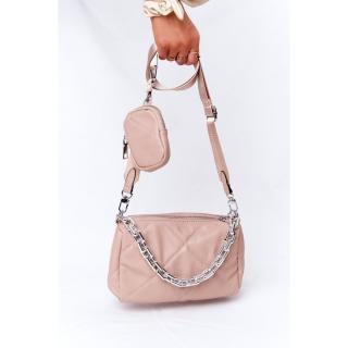 Small Shoulder Bag With A Sachet Barcelona Nude dámské Neurčeno UNIVERZÁLNÍ