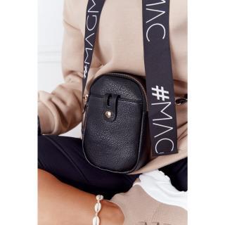 Small Womens Waist Sachet Cross Bag Amsterdam Black dámské Neurčeno UNIVERZÁLNÍ