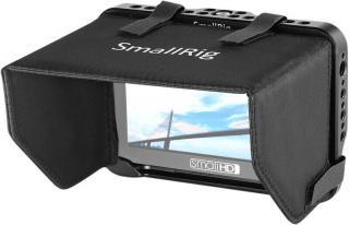 SmallRig Monitor Cage w Sunhood F SmallHD 5″ Monitor Hood Black