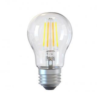Smart wifi žárovka tellur filament e27, 6 w, čirá, teplá bílá