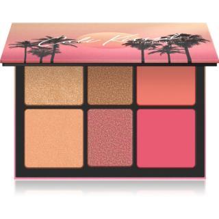 Smashbox Cali Highlight & Blush Palette multifunkční paleta na obličej 24 g dámské 24 g