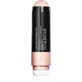 Smashbox L.A. Lights Lip & Cheek Color balzám na rty a tvářenka v jednom odstín Hollywood & Highlight 5 ml dámské 5 ml