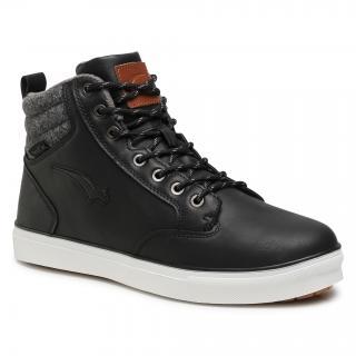 Sneakersy BAGHEERA - Ambler 86500-2 C0102 Black/Dark Grey pánské Černá 46