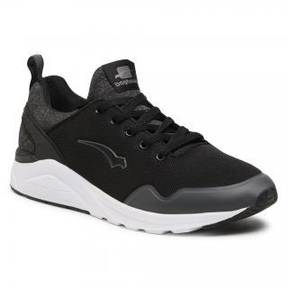 Sneakersy BAGHEERA - Dash 86397-7 C0102 Black/Dark Grey pánské Černá 45