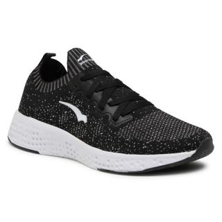 Sneakersy BAGHEERA - Destiny 86477-7 C0103 Black/Grey pánské Černá 46