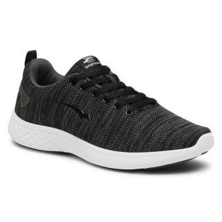 Sneakersy BAGHEERA - Flow 86447-6 C0102 Black/Dark Grey pánské Černá 41