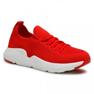 Sneakersy BIG STAR - DD274580 Red dámské Červená 36