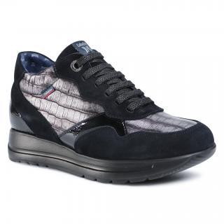 Sneakersy CALLAGHAN - 40700  Negro/Grafit dámské Šedá 36