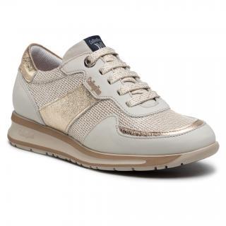 Sneakersy CALLAGHAN - Sputnik 87199 Off/Platino dámské Zlatá 38