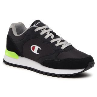 Sneakersy CHAMPION - Dsm S21698-S21-KK001 Nbk/F.Green/Grey pánské Černá 46
