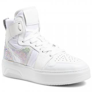 Sneakersy FABI - FD7014  Pum.Bian/New Bomb.Bia/Sah.Bia dámské Bílá 40