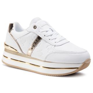 Sneakersy GUESS - Dafnee FL7DFE FAL12  WHITE dámské Bílá 40