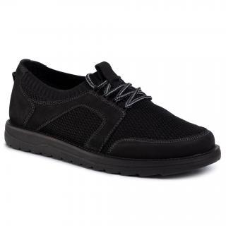 Sneakersy LASOCKI FOR MEN - MI07-A948-A777-01 Black pánské Černá 41