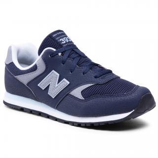 Sneakersy NEW BALANCE - YC393CBK  Tmavomodrá dámské 36