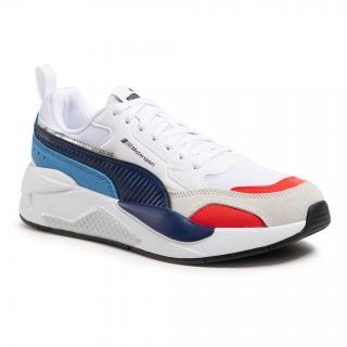 Sneakersy PUMA - Bmw Mms X-Ray 2.0 306771 02 Puma White/Blueprint pánské Bílá 40