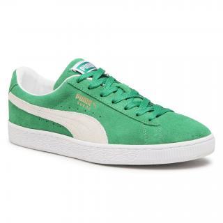 Sneakersy PUMA - Suede Teams 380168 02 Amazon Green/Puma White pánské Zelená 41