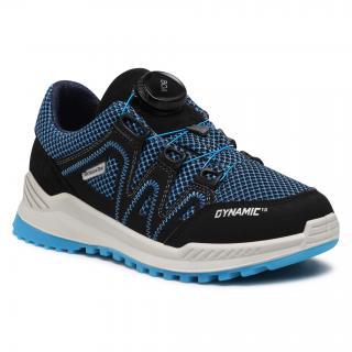 Sneakersy RICOSTA - Leed 73 5804500/183 D Royal/Schwarz pánské Tmavomodrá 31