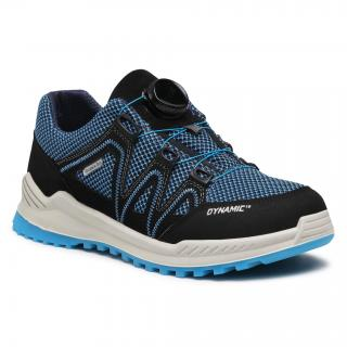 Sneakersy RICOSTA - Leed 73 5804500/183 DD Royal/Schwarz pánské Tmavomodrá 36