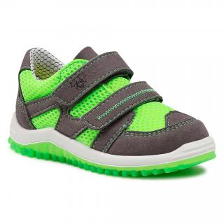Sneakersy RICOSTA - Pepino by Ricosta Pepe 71 2320200/551  Graphit/Neongrün pánské Zelená 21