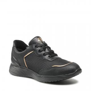 Sneakersy RYŁKO - 1ZRK5_A Czarny 4RK dámské Černá 35