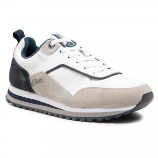 Sneakersy S.OLIVER - 5-13624-26 White Comb. 110 pánské Barevná 41