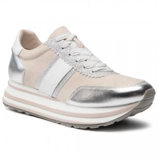Sneakersy TAMARIS - 1-23737-26 Rose Comb 596 dámské Stříbrná 36