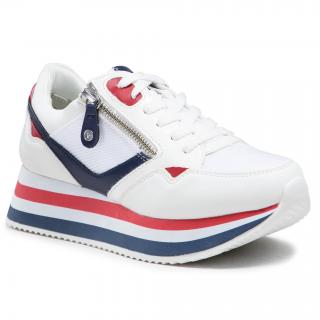 Sneakersy TAMARIS - 1-23742-26 White Comb 197 dámské Bílá 36
