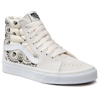 Sneakersy VANS - Sk8-Hi VN0A32QG42S1M  Classic Wht/Blk Béžová 39
