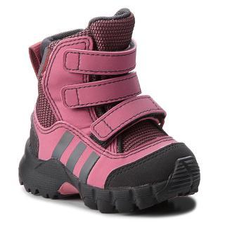 Sněhule adidas - Cw Holtanna Snow Cf I D97660 Tramar/Carbon/Grefou dámské Růžová 17