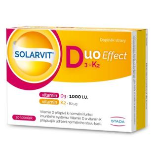 SOLARVIT DuoEffect D3  K2 30 tobolek