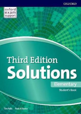 Solutions 3rd Edition Elementary Student´s Book and Online Practice Pack International Edition