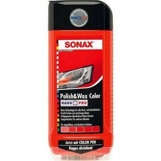 SONAX Polish & Wax COLOR červená, 500ml