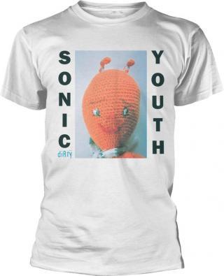 Sonic Youth Dirty T-Shirt XXL pánské White 2XL