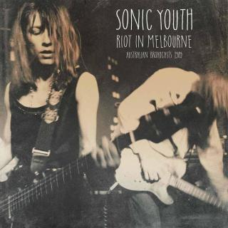 Sonic Youth Riot In Melbourne  Black