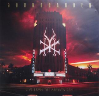 Soundgarden Live At The Artists Den  Black