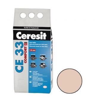 Spárovací hmota Ceresit CE 33 bahama 2 kg CG1 CE33243 béžová bahama