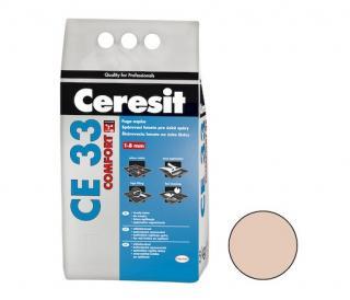 Spárovací hmota Ceresit CE 33 bahama 5 kg CG1 CE33543 béžová bahama