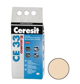 Spárovací hmota Ceresit CE 33 caramel 2 kg CG1 CE33246 hnědá caramel