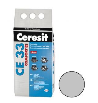 Spárovací hmota Ceresit CE 33 manhattan 2 kg CG1 CE33210 šedá manhattan