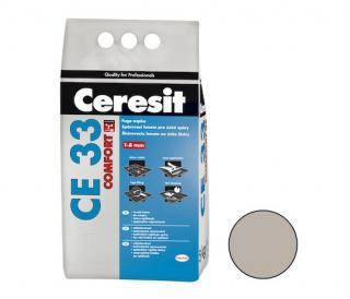 Spárovací hmota Ceresit CE 33 šedá 5 kg CG1 CE33507 šedá šedá