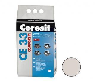 Spárovací hmota Ceresit CE 33 silver 5 kg CG1 CE33504 šedá silver