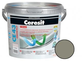 Spárovací hmota Ceresit CE 43 antracite 5 kg CG2WA CE43513 šedá antracite
